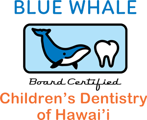 Blue Whale Children's Dentistry of Hawaii logo
