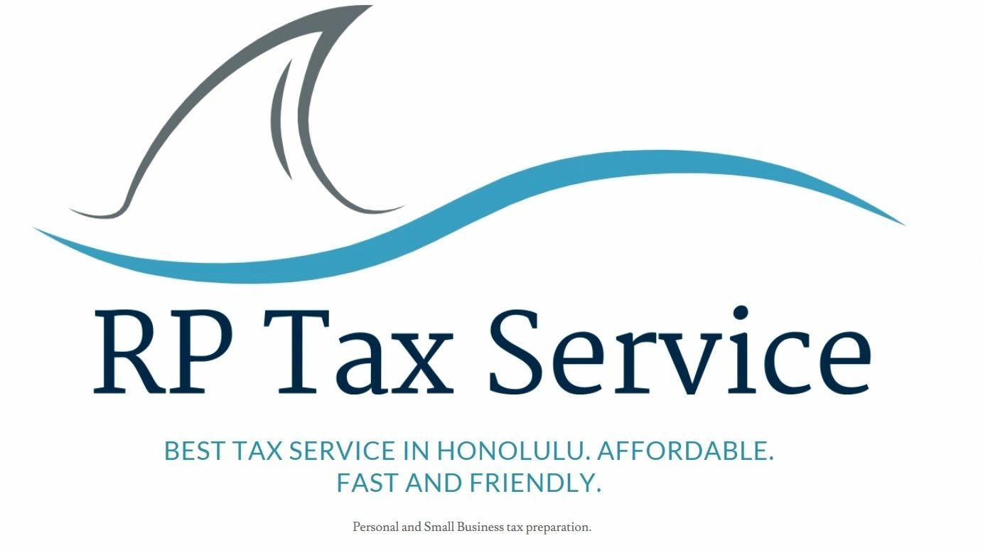R P Tax Service logo