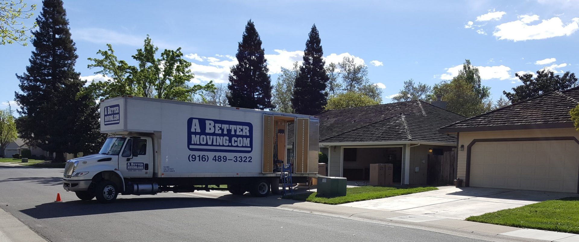A Better Moving Co logo