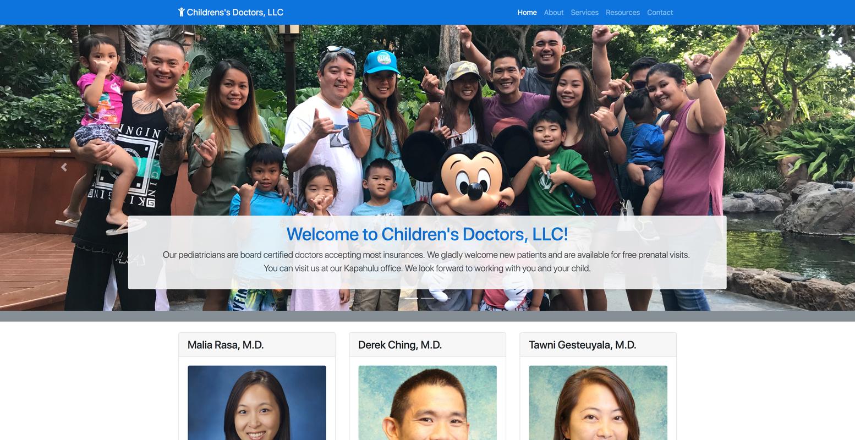 Children's Doctors LLC logo