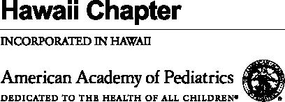 American Academy of Pediatrics Hawaii logo