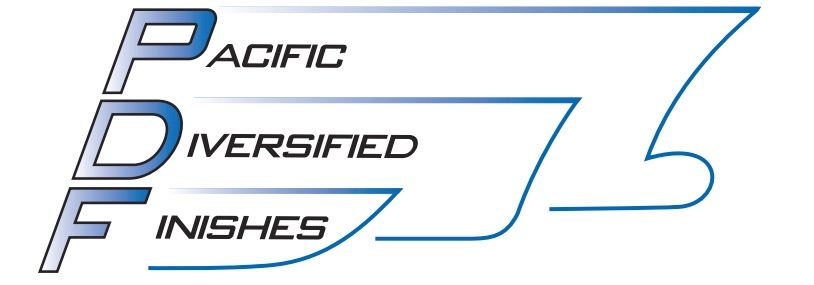 Pacific Diversified Finishes logo