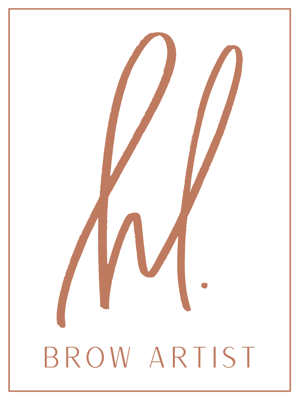 HL Brow Artist logo