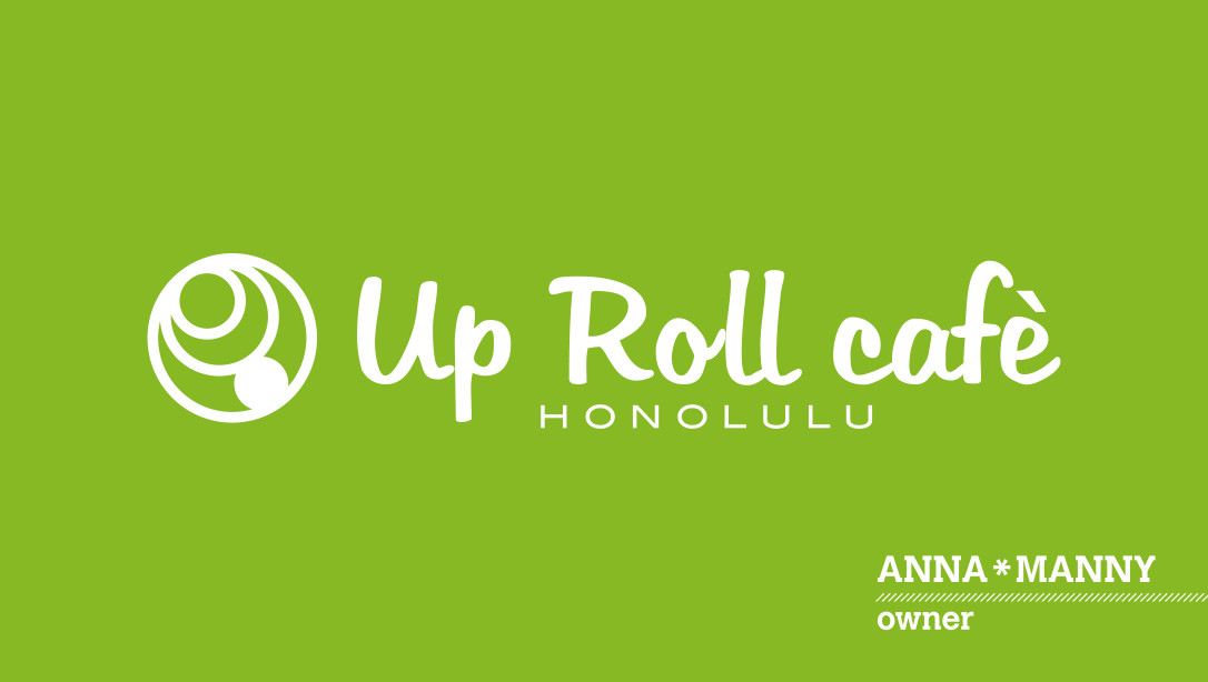 Up Roll Cafe logo