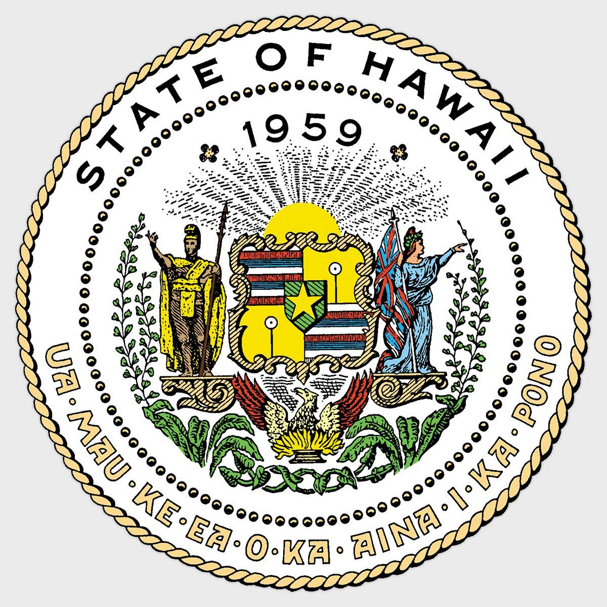 Hawaii Department of Defense logo