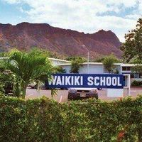 Waikiki Elementary School logo