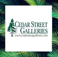 Cedar Street Galleries logo