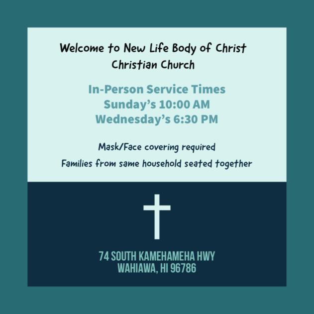 New Life Body of Christ Church logo