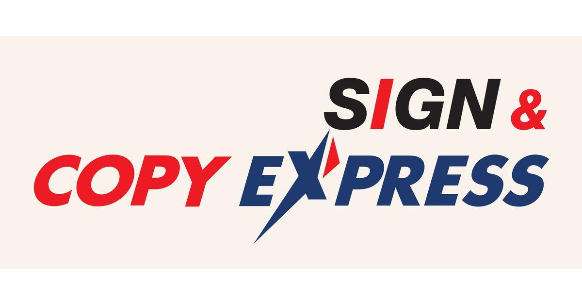 Sign & Copy Express logo
