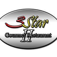3 Star Gourmet II Restaurant logo