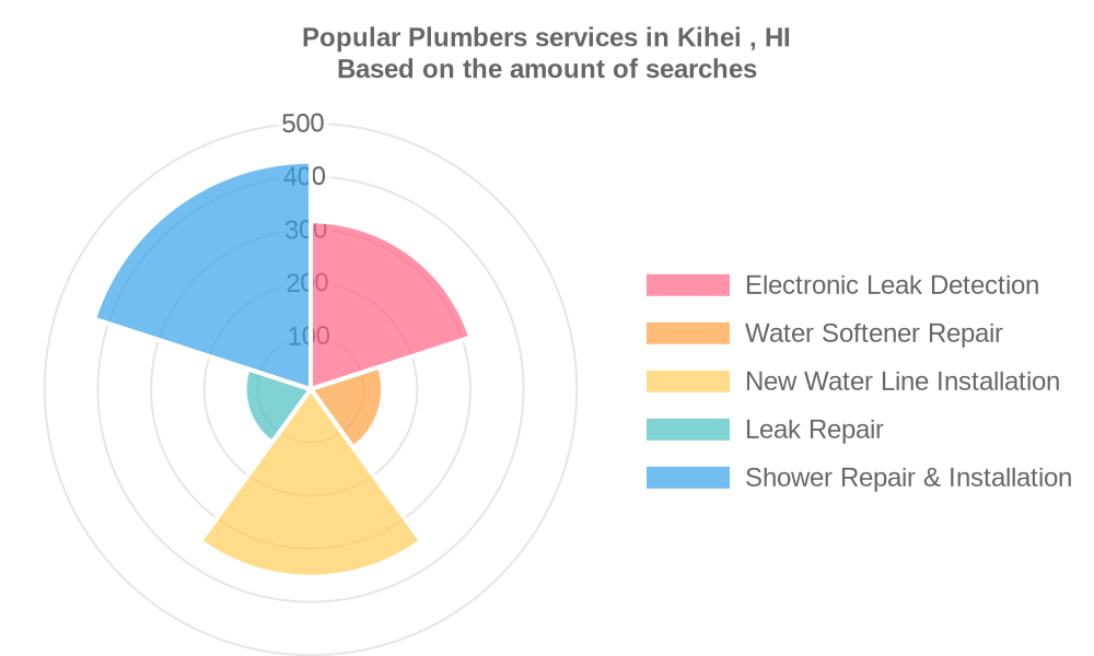 Popular services provided by plumbers in Kihei , HI