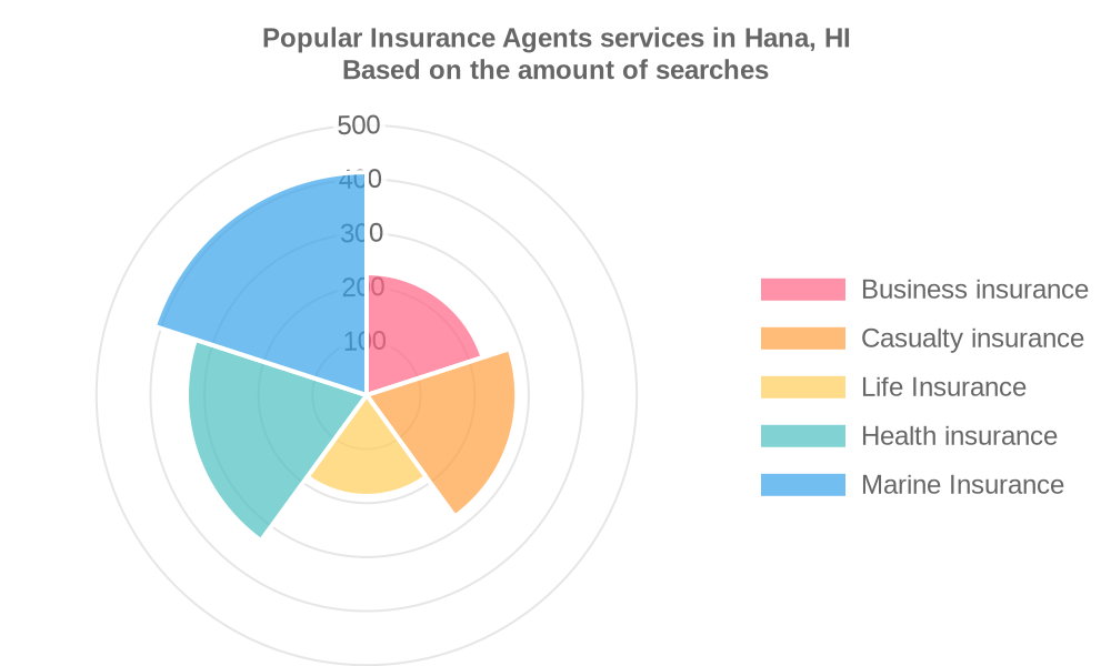 Popular services provided by insurance agents in Hana, HI