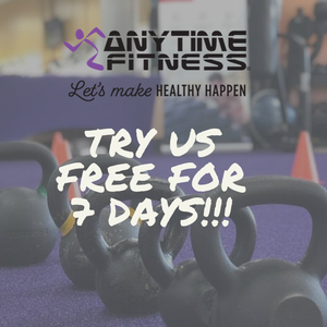 Photo uploaded by Anytime Fitness